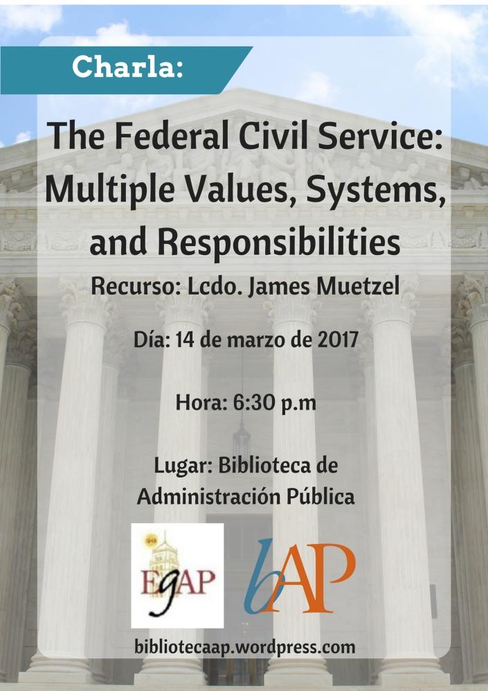 charla_the-federal-civil-service_marzo2017